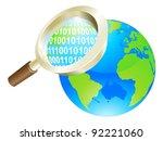 conceptual illustration of... | Shutterstock .eps vector #92221060