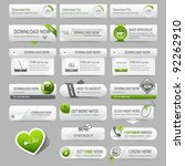 Web Design Template Elements ...