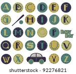 Glitter Alphabet   Boy