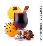 Mulled Wine With Spices...