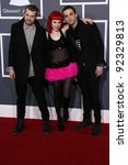 Small photo of Paramore at the 53rd Annual Grammy Awards, Staples Center, Los Angeles, CA. 02-13-11