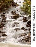 Swift Flowing Mountain Stream...