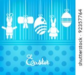 easter concept background   Shutterstock .eps vector #92357764