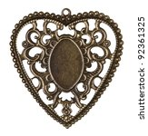 Heart Shape Vintage Metal Fram...