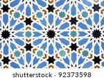 Closeup Of A Ceramic Tile In...