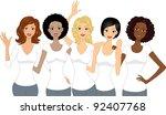 illustration of girls...
