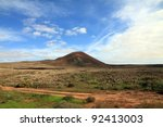 fuerteventura canary islands... | Shutterstock . vector #92413003