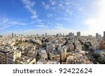 Panoramic View On Roofs Of Old...
