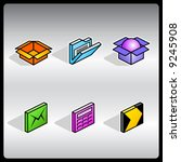 vector 3d iconset