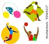 sport icons 10 | Shutterstock . vector #92464117