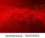red holiday abstract background ... | Shutterstock . vector #92474551