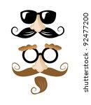 disguises | Shutterstock .eps vector #92477200