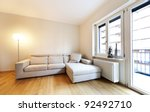 interior modern living room ... | Shutterstock . vector #92492710
