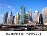Lower Manhattan Seaport And...