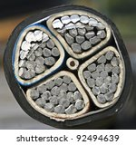 direct buried cable | Shutterstock . vector #92494639
