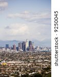 city scape of downtown los... | Shutterstock . vector #9250045