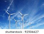 wind power | Shutterstock . vector #92506627