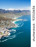 aerial view of coast of cape... | Shutterstock . vector #92510656