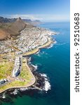 aerial view of coast of cape... | Shutterstock . vector #92510683