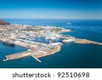 aerial view of cape town... | Shutterstock . vector #92510698