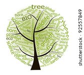ecological tree ecology concept