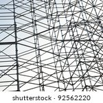 scaffolding as safety equipment ... | Shutterstock . vector #92562220