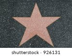 hollywood walk of fame star ... | Shutterstock . vector #926131