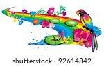 birds | Shutterstock .eps vector #92614342