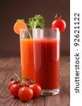 vegetables cocktail | Shutterstock . vector #92621122
