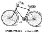 Old Bicycle   Vintage...