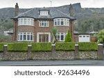 luxury property in belfast with ... | Shutterstock . vector #92634496