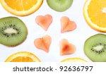 sliced fruits   Shutterstock . vector #92636797