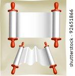 torah clip art | Shutterstock .eps vector #92651866