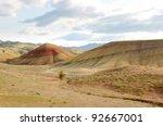 painted desert hills | Shutterstock . vector #92667001