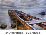 Old Rusty Pier Located At...