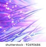 optical fibers bright colors   Shutterstock . vector #92690686