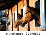 Three Horses With The Head...