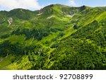 beautiful view of summer green... | Shutterstock . vector #92708899