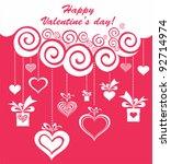 valentine's day card design....