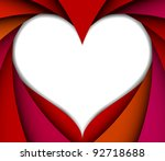colorful valentine background | Shutterstock .eps vector #92718688