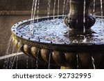 detail of an old classic style... | Shutterstock . vector #92732995