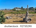 Remains Of Temple Of Artemis I...