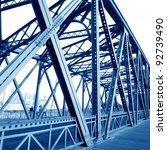 Support Above The Bridge  Steel ...