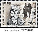 italy   circa 1989  stamp...   Shutterstock . vector #92763781