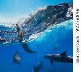 oceanview with sunlight. a...   Shutterstock . vector #92776846