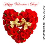 happy valentine's day  card... | Shutterstock . vector #92780149