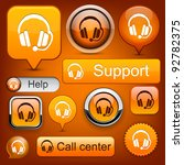 Support Web Orange Buttons For...