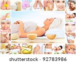 beautiful young woman getting... | Shutterstock . vector #92783986