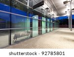 contemporary bus station... | Shutterstock . vector #92785801