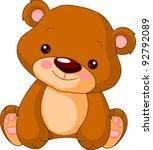 fun zoo. illustration of cute... | Shutterstock .eps vector #92792089